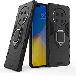 Cellphone Hard Case Shockproof PC + TPU Protective Case with Magnetic Ring Holder Protective Case Covers