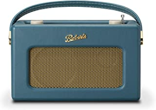 Roberts Radio Retro DAB/DAB+ FM Wireless Portable Digital Bluetooth Radio Alexa Voice Controlled Smart Speaker Revival iSt...