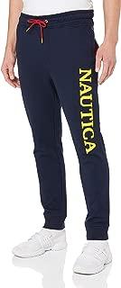 Nautica Men's Blue SAIL Jogger W Print Logo