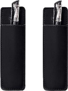 کیف چرم مغناطیسی HOLDM نشانگر کیف دستی برای یخچال یا فریزرهای سطحی (2 دارنده قلم PCS)