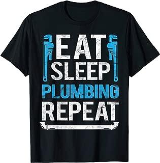 Plumber Funny Plumbing Wrench Tools T-Shirt