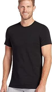 Men's T-Shirts Slim Fit Cotton Stretch Crew Neck - 2 Pack