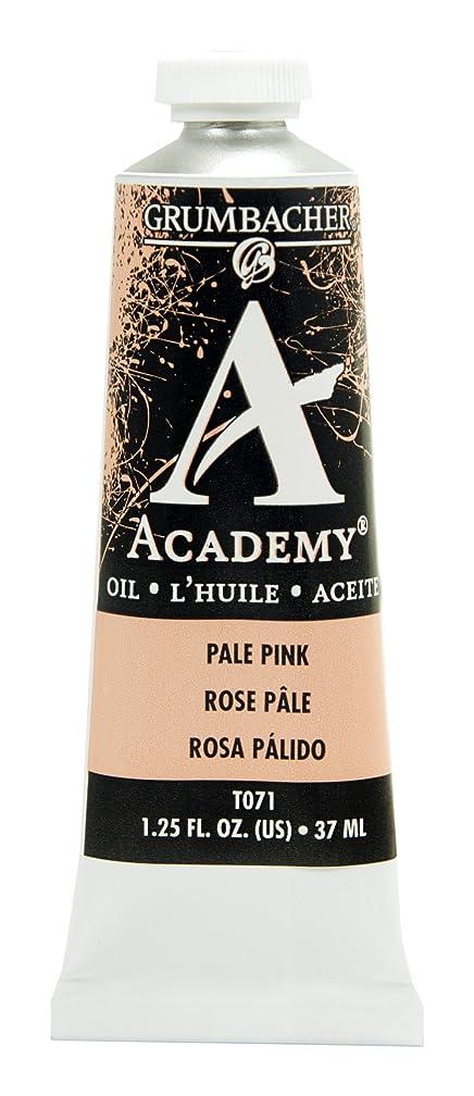 Grumbacher Academy Oil Paint, 37ml/1.25 Ounce, Pale Pink (T071)