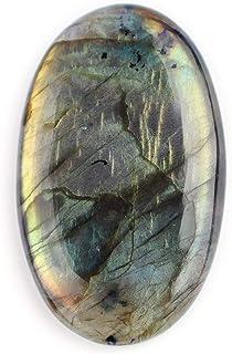 OdrillionGems Multi Fire Labradorite Gemstone Cabochon for Jewelry Making Wire Wrapping DIY Crafts Energy Stone Meditation...