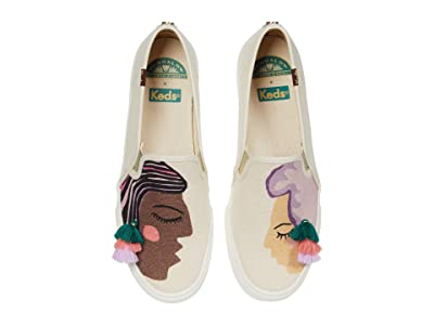 Keds Jungalow x Double Decker (Duet Natural Multi) Women
