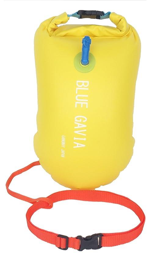 潤滑する十分明確なスイムブイ フロート ダブル エアバッグ デュアルバルブ 男女 大人 子供 兼用 浮き輪 トライアスロン