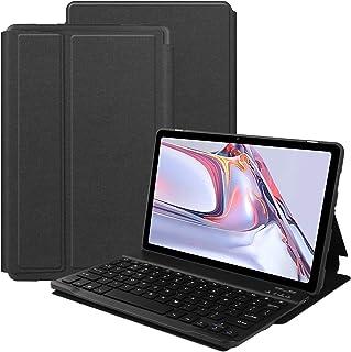 VOVIPO Tastatur Hülle für Galaxy Tab A7 10.4 2020 [QWERTZ Deutsches], Ständer Schutzhülle mit magnetisch abnehmbar Tastatur für Galaxy Tab A7 10.4 2020 (SM T500/T507)