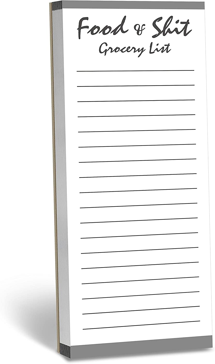 100 Pages At the price Ranking TOP3 Magnetic Back Funny Grocery List Pad To Note Planner D