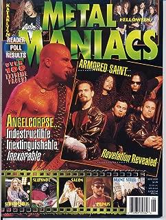 Metal Maniacs Magazine ANGELCORPSE Helloween OVERKILL Slipknot EMPEROR Saxon S.O.D. June 2000 C (Metal Maniacs Magazine)