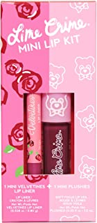 Lime Crime Mini Lip, 2-Piece Kit, Dark, 2.8 ml 816652023300