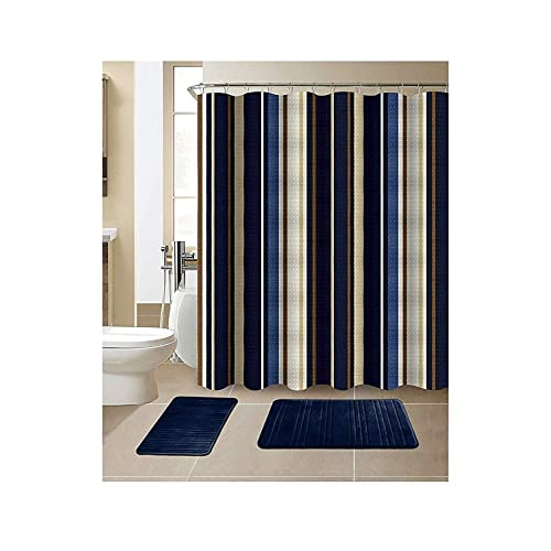 Bathroom Accessory Sets With Matching Shower Curtain Amazoncom