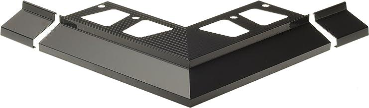 Cezar W - Al Okap 100Z 123 0218 角度 + 连接器(全套)适用于天井棕色(2 件装)