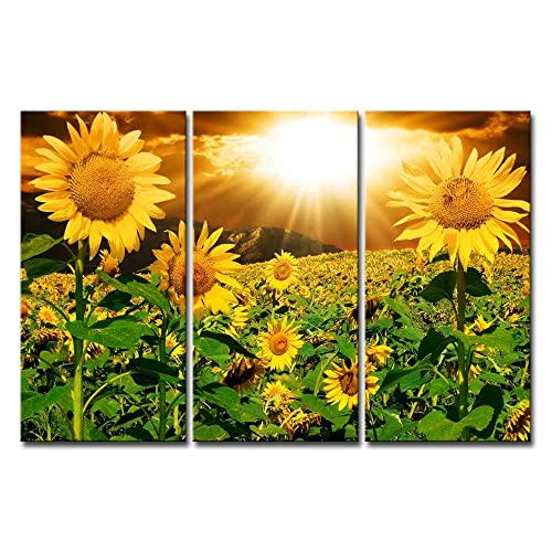 Sunflower Home Decor: Sunflower Painting: Amazon.com