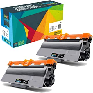 Do it Wiser Compatible Toner Cartridge for Brother TN750 TN720 Brother MFC-8710DW HL-5470DW MFC-8810DW MFC-8910DW MFC-8950DW HL-5450DN HL-6180DW MFC-8510DN DCP-8110DN (Black High Yield, 2-Pack)