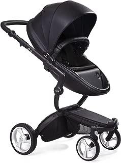Mima Xari Stroller Black Chassis Black Seat Black Starter Pack, Black
