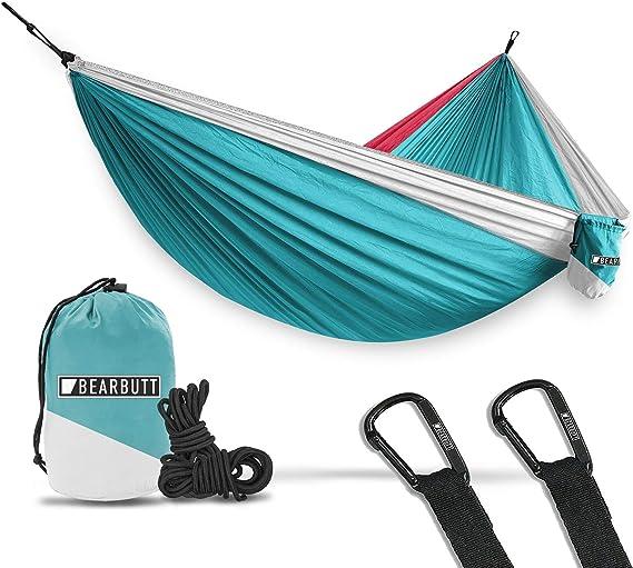Portable 2-Person Camping Hammock