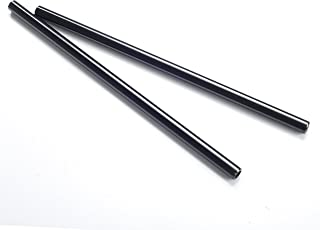 Movo Photo PT18 Set of Two Aluminum 15mm Rods for DSLR Camera Rail System (18