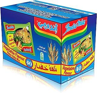 Indomie Pillow Pack Vegetable Flv, 40 x 75 g - Pack of 1