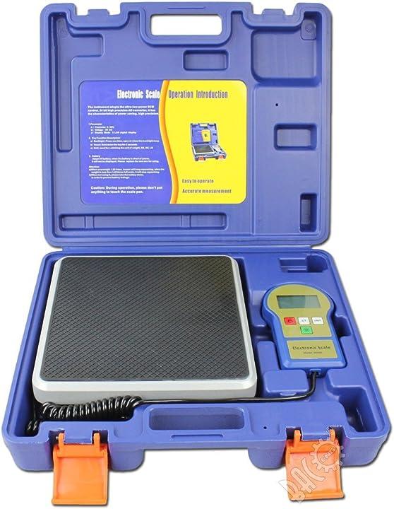 Bilancia elettronica di carico refrigerante con retroilluminazione e display lcd 100 kg bacoeng B07DB4MCWZ