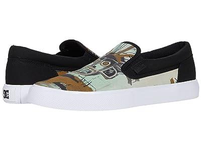 DC DC X Basquiat Sneaker Collection (Black Graphic