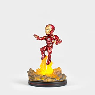 Quantum Mechanix Iron Man Light Up Q-FIG Figure Action Figure