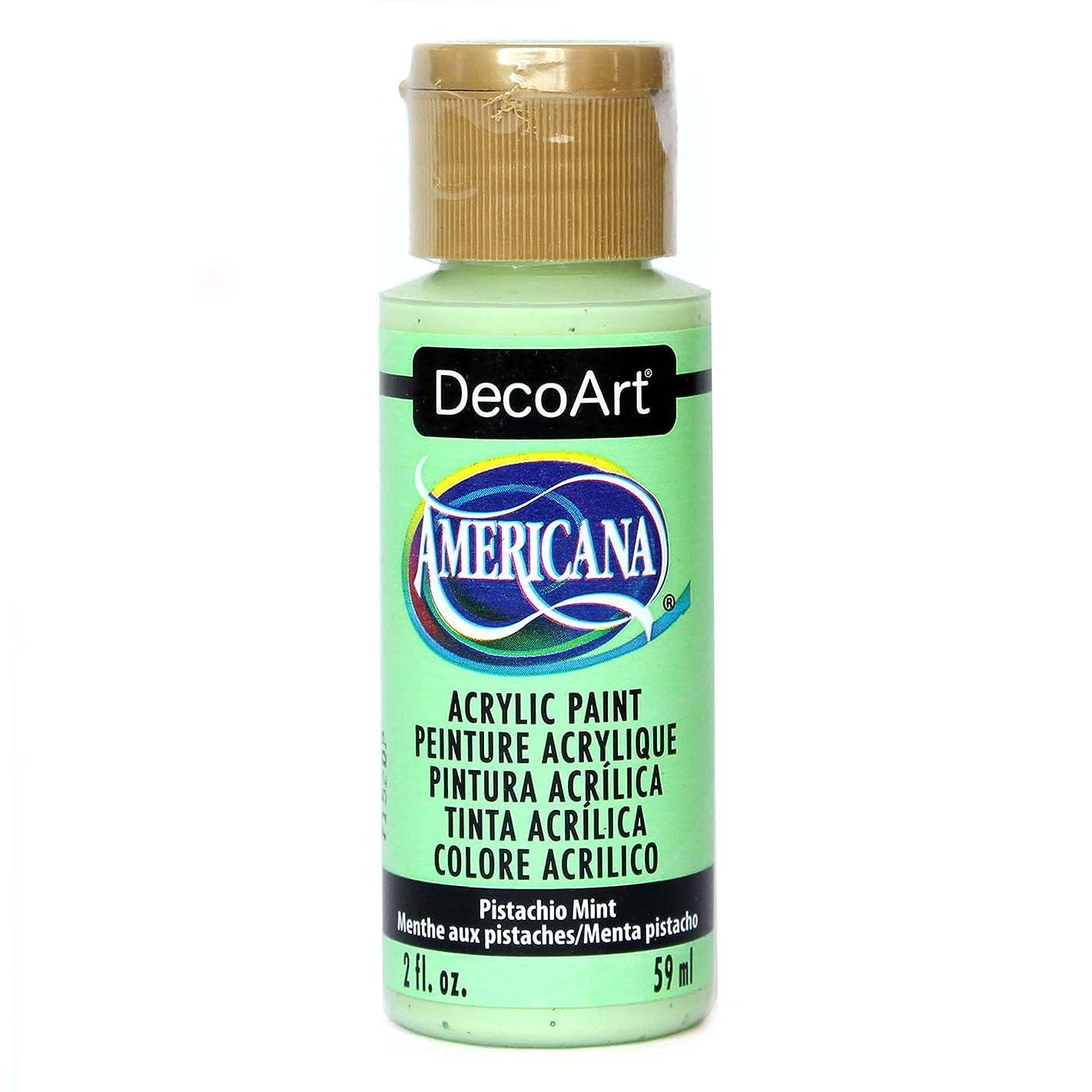 DecoArt Americana Acrylic Paint, 2-Ounce, Pistachio Mint
