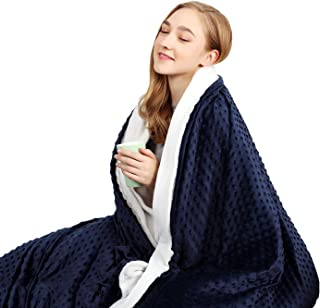 "CHIAVE Weighted Blanket 20 lbs 60""x80"" Queen Size 