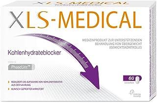 XL-S Medical - Bloqueador de hidratos de carbono, 60 pastillas, 1 paquete (1 x 60 unidades)
