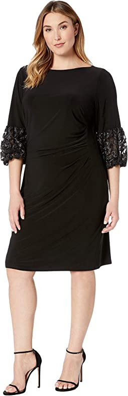 Plus Size Vidella 1T Matte Jersey Day Dress