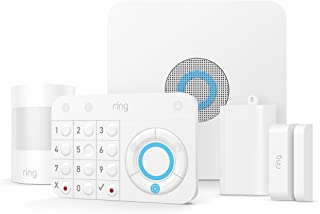 Ring Alarm 5 Piece Kit (1st Gen) – Home Security System with optional 24/7 Professional..