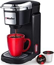 Mueller Pro Single Serve Coffee Maker, Personal Coffee Brewer Machine for Single Cup Pods..