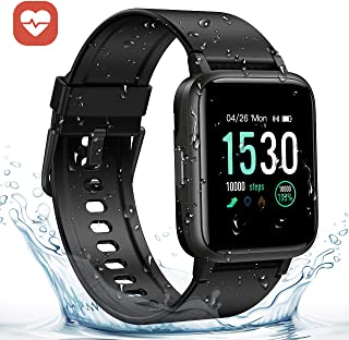 GRM Fitness Tracker with Heart Rate Monitor, Activity Tracker Watch Full 1.3