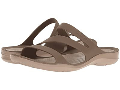 Crocs Swiftwater Sandal (Walnut) Women