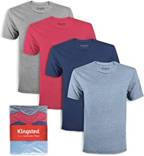 Men's T-Shirts - Royally Comfortable - Soft & Smooth - American Cotton - Classic Fit - Single & Multi Pack