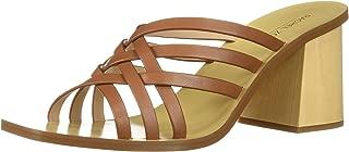 Rachel Zoe Women's Kate Peep Toe Mule Heeled Sandal