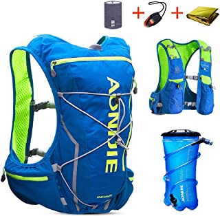 Hydration Pack Backpack 10L Deluxe Running Race Hydration Vest Outdoors Mochilas for Marathon Running Cycling Hiking