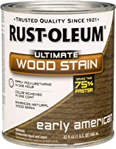 Rust-Oleum 260146 Ultimate Wood Stain, Quart, Early American