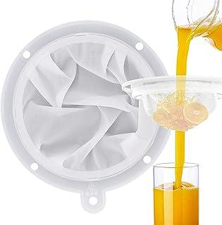 JJQHYC Filtre à Tamis Fin 300 Mailles Filtres à Entonnoir de Cuisine Insert d'entonnoir de 13 cm pour Filtrer la liqueur, ...