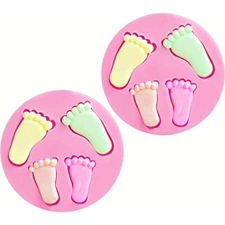 DIY 3D Feet Foot Silicone Mold Cake Sugarcraft Fondant Baking Decorating Tool J