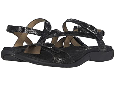 Taos Footwear Beauty 2 (Black Snake) Women