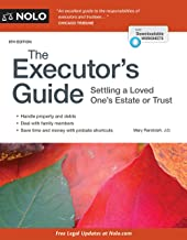 Executor's Guide, The: Settling a Loved One's Estate or Trust PDF