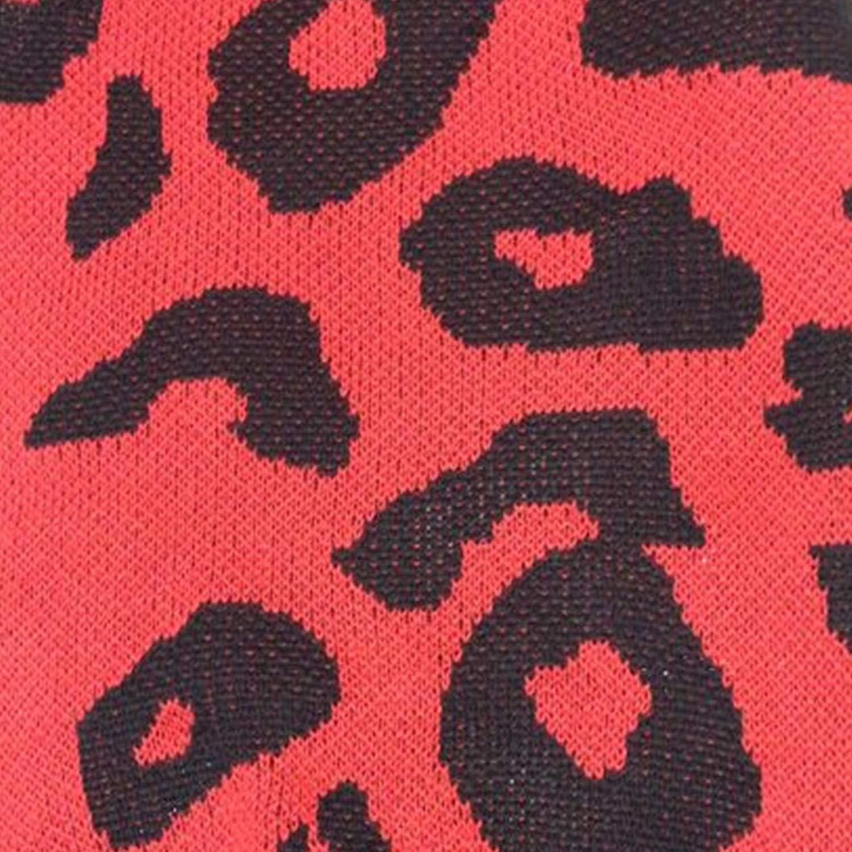 Angashion Mantel Damen Lang Blumen Strickjacken Langarm Weihnachten Cardigan Winter Warme Outwear Rot