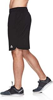 Reebok Men's Lightweight Workout Gym & Running Shorts w/Elastic Drawstring Waistband & Pockets - 9 Inch Inseam