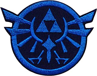 Zelda Triforce Game Logo Embroidered Iron Patches