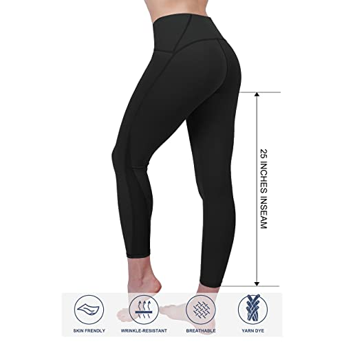 721be72850f05 HonourSex Women High Waist Yoga Leggings,Tummy Control Fitness Jogging  Capri Workout Everyday 4 Way