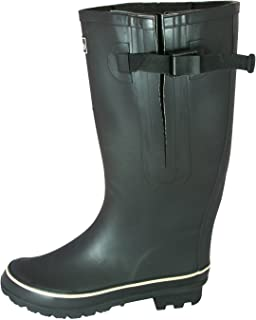 1ae58e75ac3 Jileon Extra Wide Calf Rubber Rain Boots for Women-Widest Fit Boots in The  US