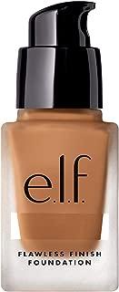 e.l.f. Flawless Finish Foundation, Semi-Matte, Long-Lasting Liquid Makeup, SPF 15, Tan, 0.68 Fl Oz