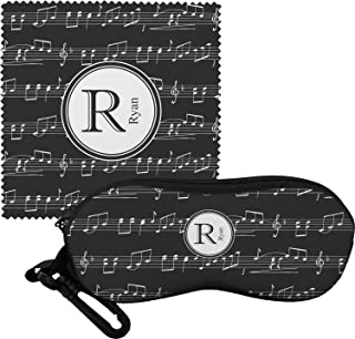 Musical Notes Eyeglass Case & Cloth (Personalized)
