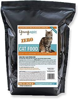 【ヤングアゲイン】ゼロ グレインフリー ハイプロテイン プレミアム キャットフード 1.8kg 動物性タンパク質 54% 炭水化物 1%未満 成猫 子猫 全猫種 全年齢