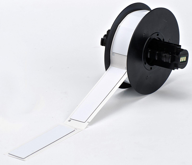 Spring new work Blank Raised free shipping Profile Label White Pk340 3